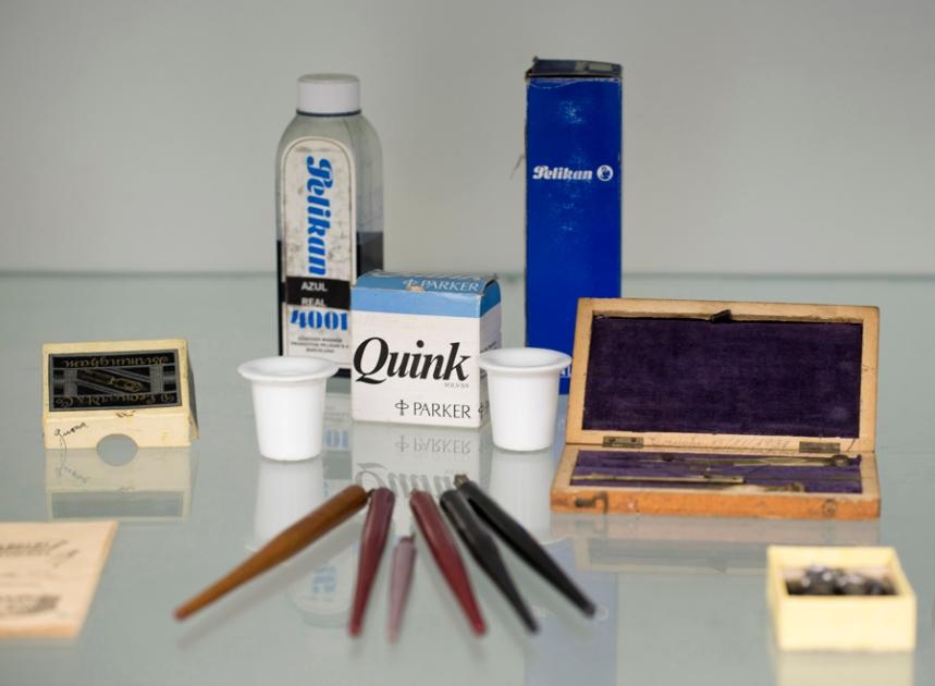 Objectos familiares aos alunos que frequentaram a antiga escola primária, Escola Museu Salgueiro Maia