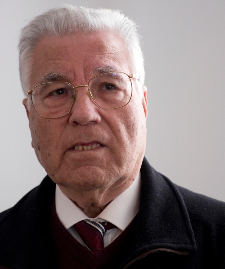 Joaquim Tapadinhas frequentou a escola conde de Ferreira em 1946