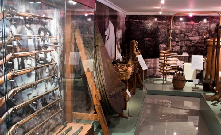 Etnografia e armaria no Museu