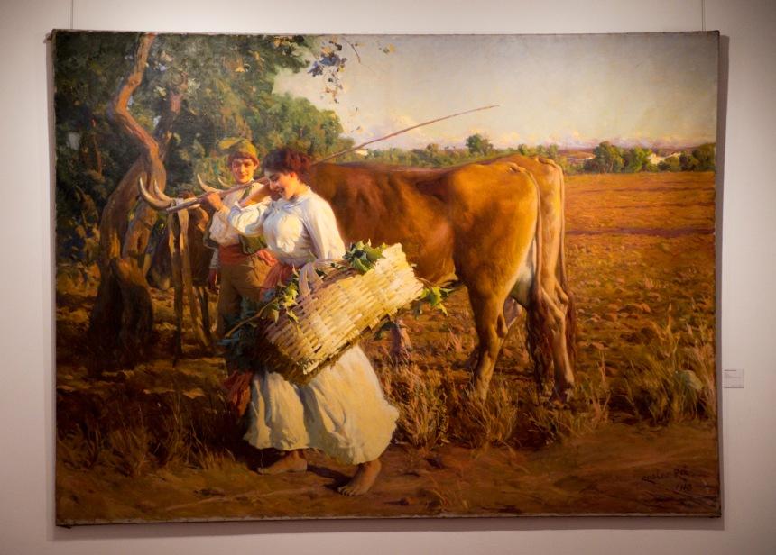 Pintura de Carlos Reis