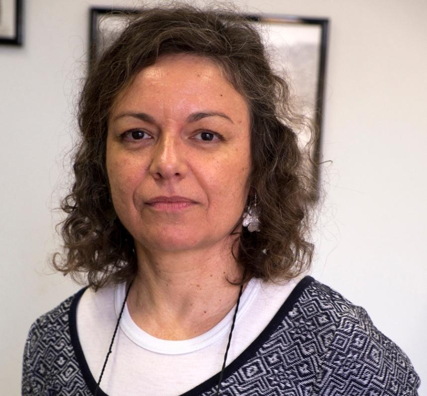 Luísa Gomes, responsável da Biblioteca Municipal Manuel da Fonseca