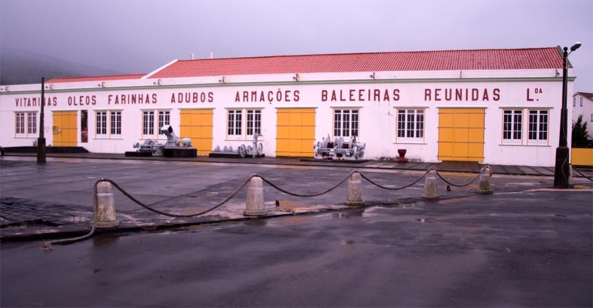 Exterior da antiga fábrica