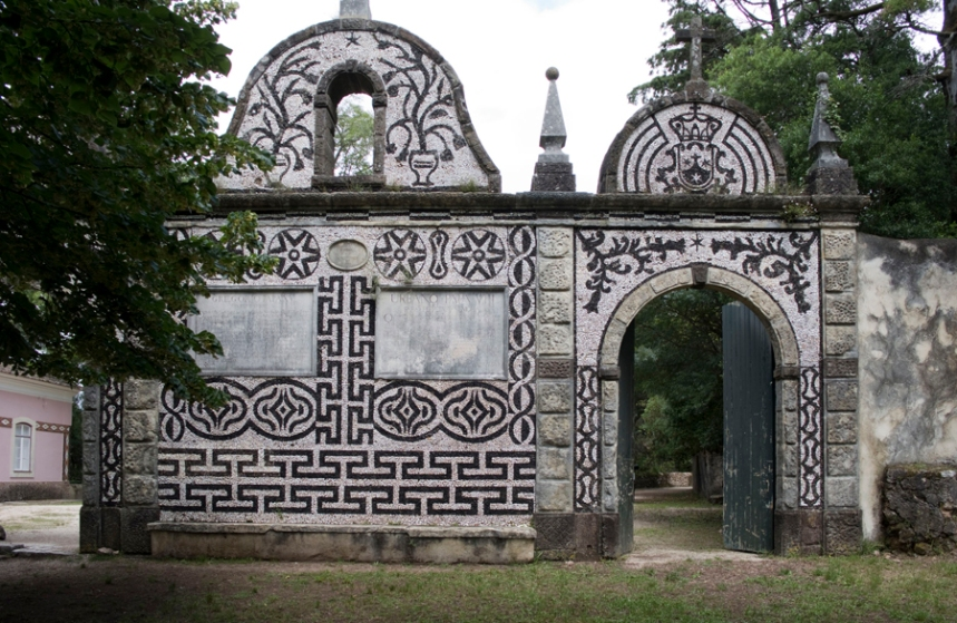 Uma das portas de entrada na Mata