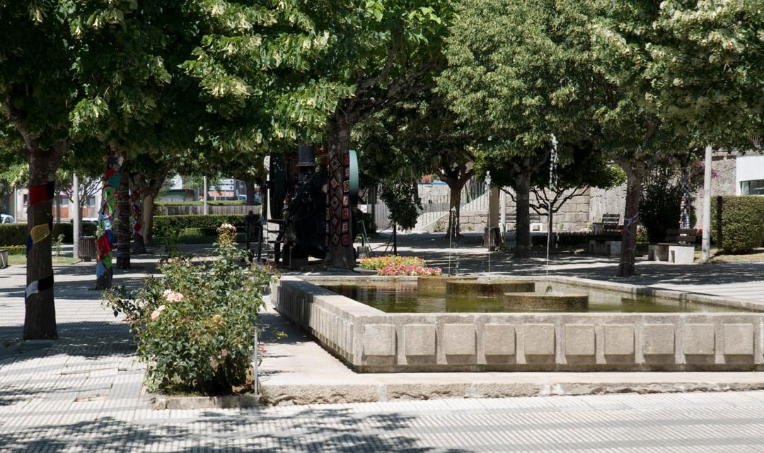 Praça em Castro Daire