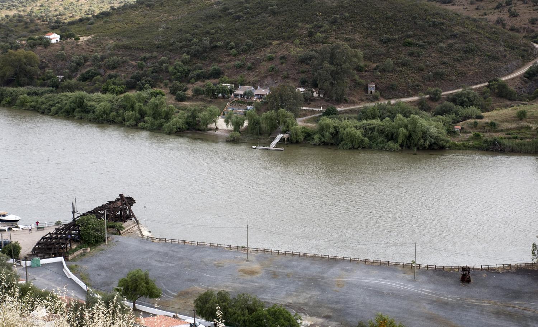 Porto fluvial do Pomarão