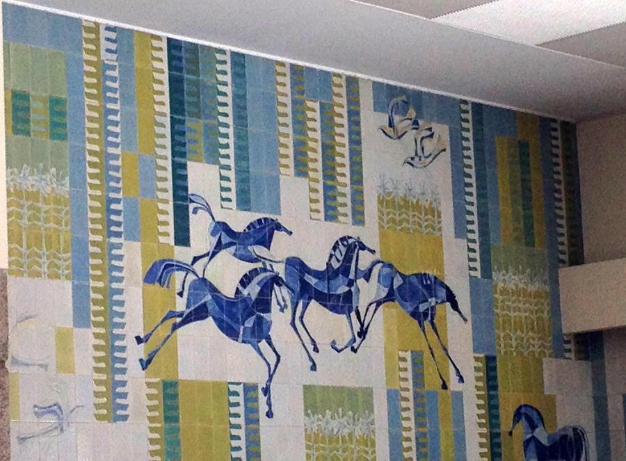 Azulejos de Júlio Resende