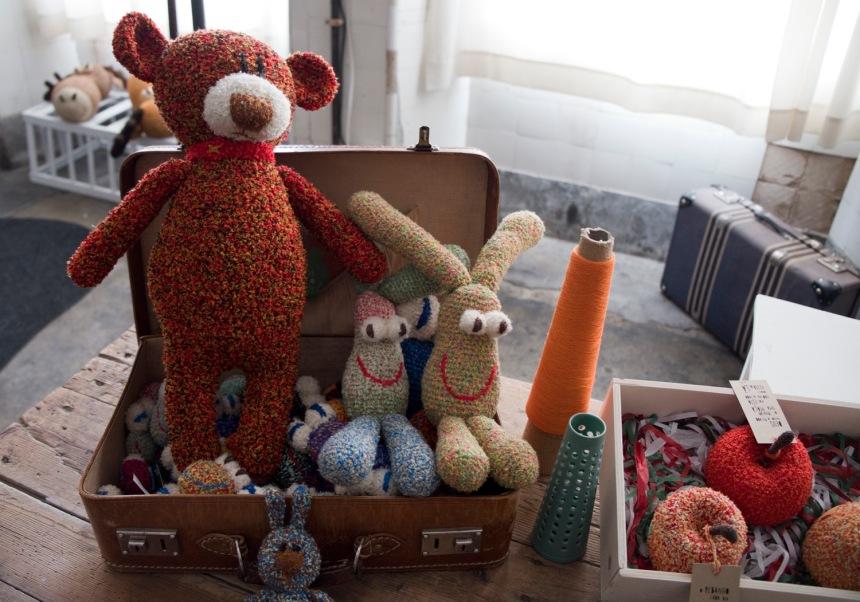 Bonecos em lã de Ana Almeida