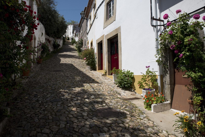 Rua da judiaria de Castelo de Vide