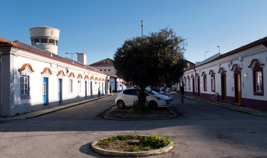 Rua do bairro operário da CUF
