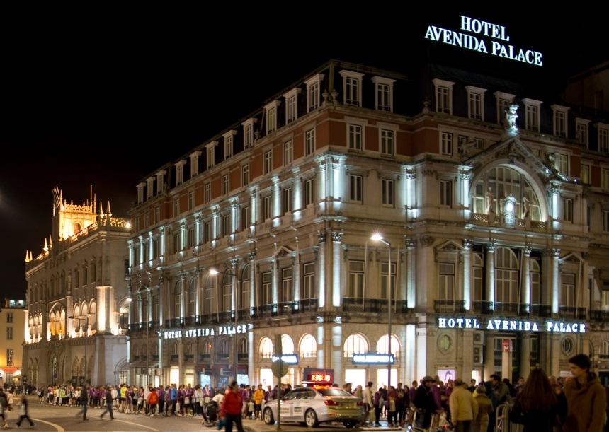 Estação e Hotel Avenida Palace
