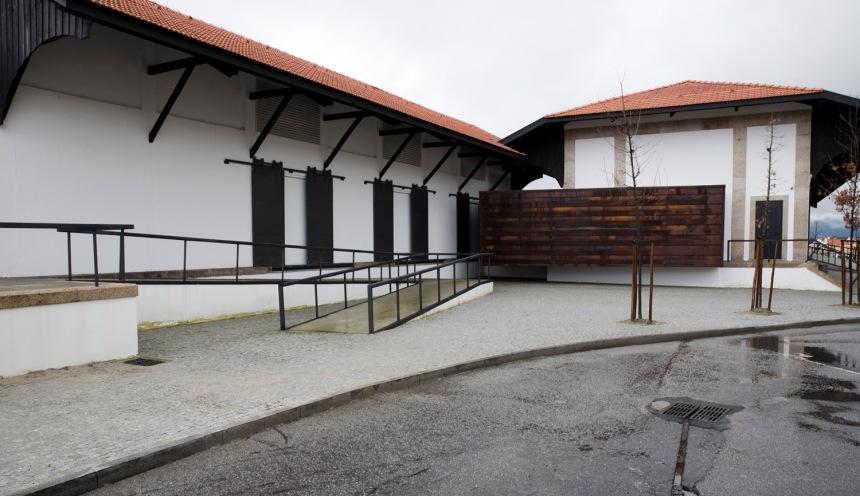 Armazéns de mercadorias da estação e onde está alojado o Memorial