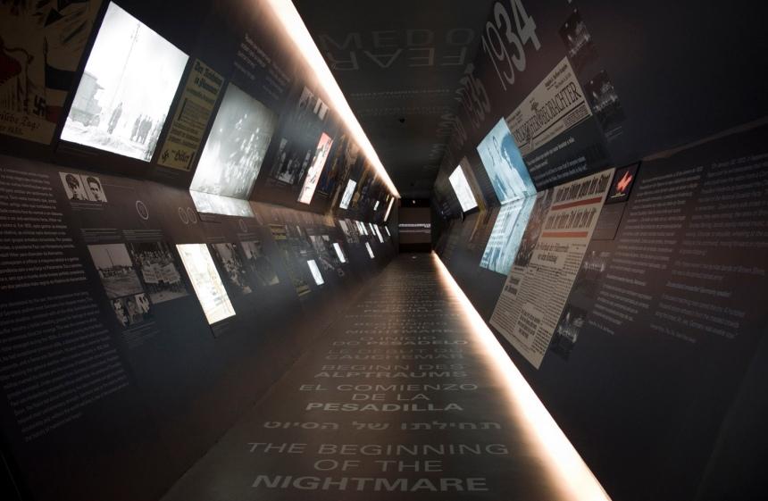 A fuga do holocausto