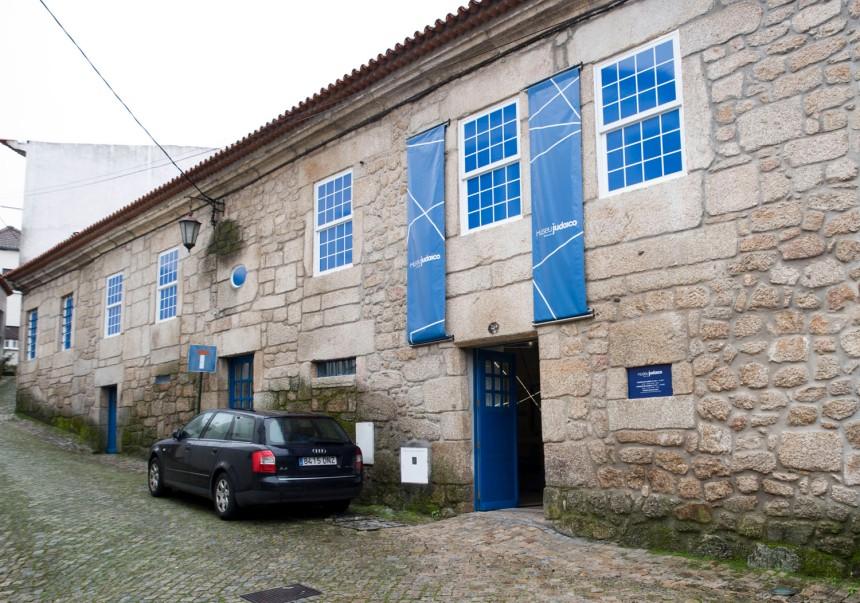 Entrada do Museu Judaico