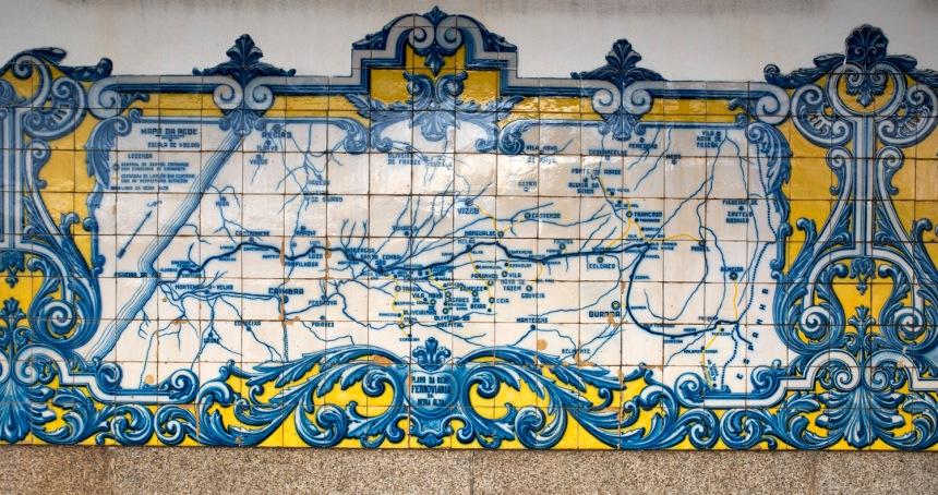 Mapa da Linha da Beira Alta
