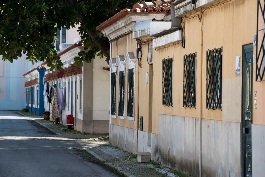 Rua do bairro