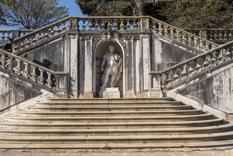Escadaria em pedra