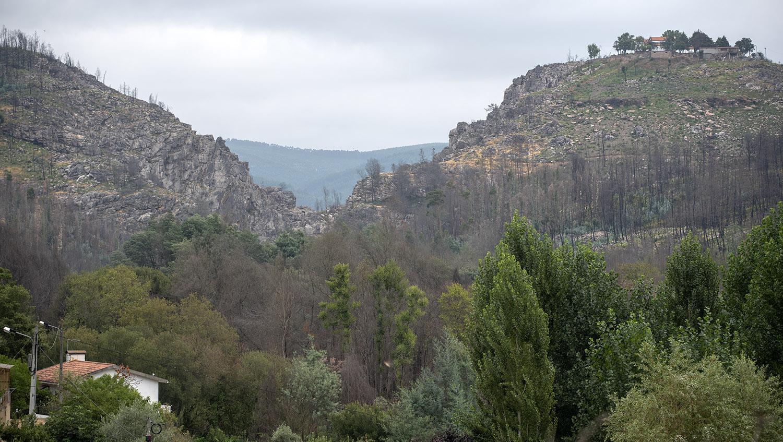 Visão geral do Cerro da Candosa