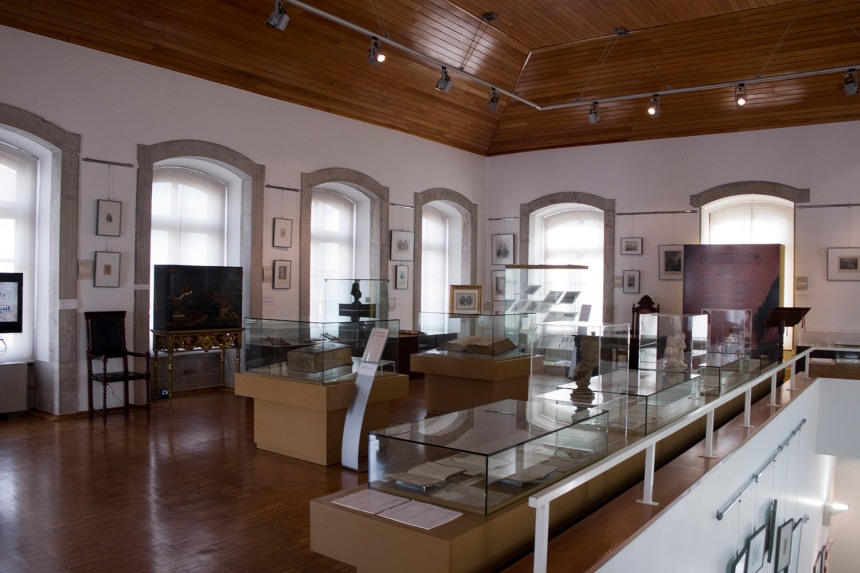 Interior do Museu Marquês de Pombal