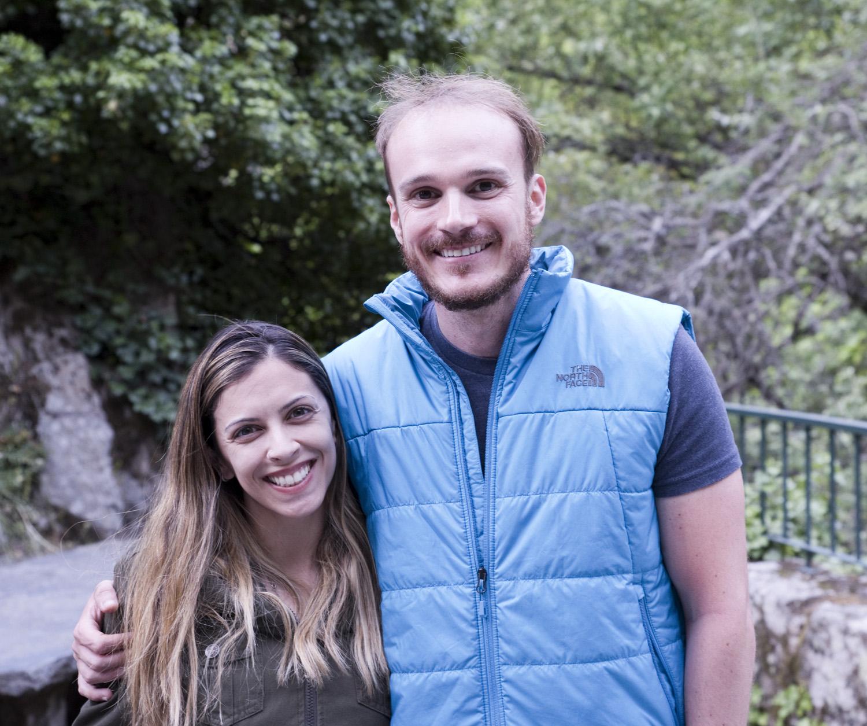 João Gabriel e a namorada