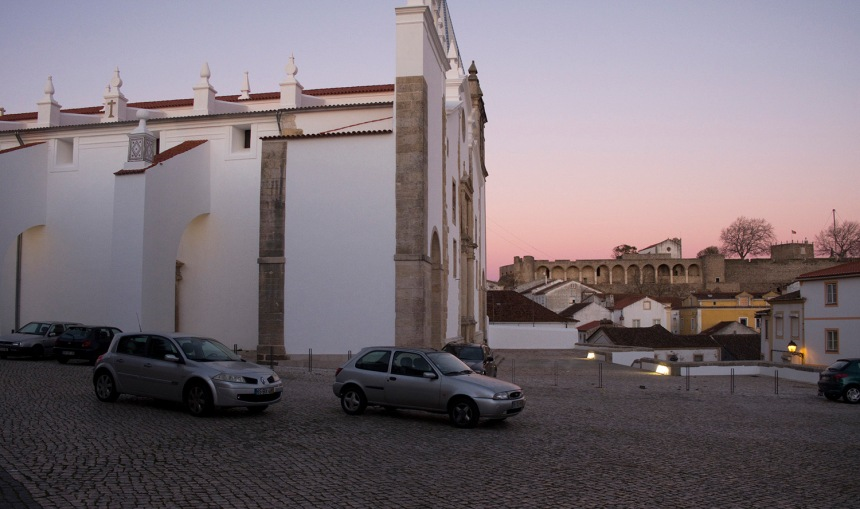 Igreja de S. Vicente e vista para a Fortaleza