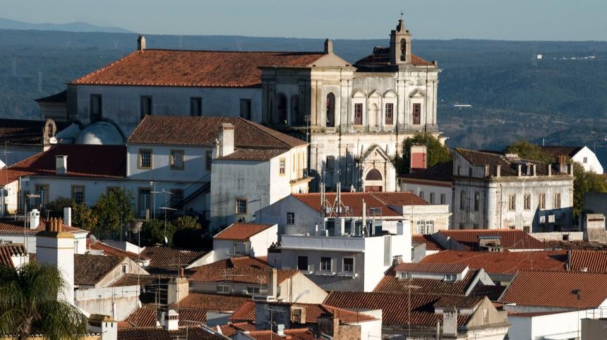 Vista para a igreja de S. João