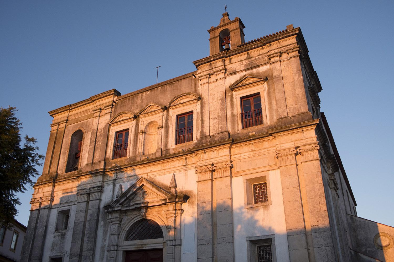 Fachada da igreja de S. João