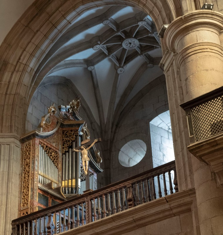 Órgão da igreja