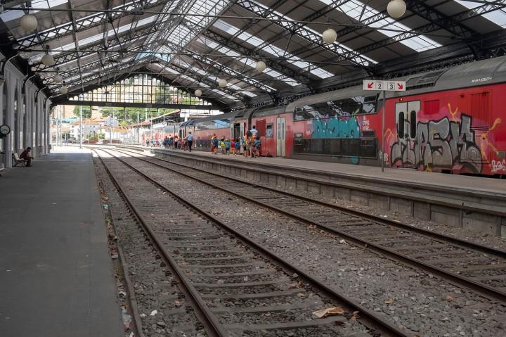 Estação de Alcântara em Lisboa