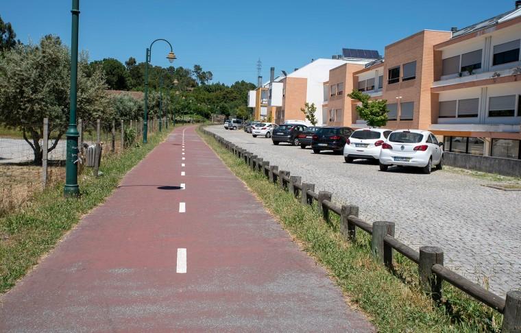 Ecopista próximo de Viseu