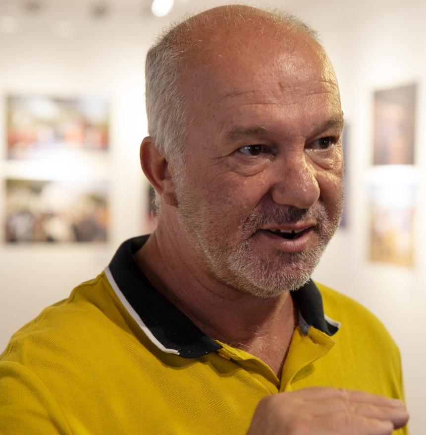 José Luis Catalão, responsável pelos museus e bibliotecas municipais de Setúbal