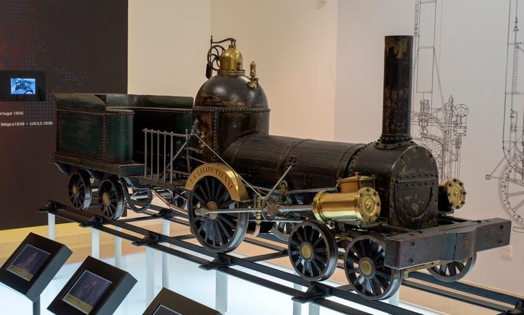 Lilliputienne - a locomotiva brinquedo