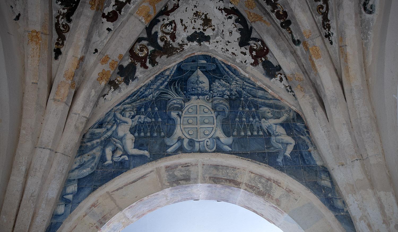 Pormenor de uma das capelas