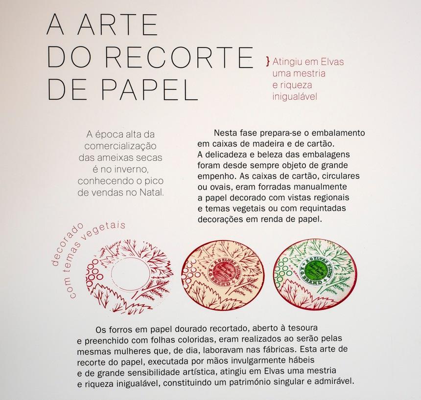 """Para embalar os produtos confitados foi também desenvolvida a """"arte do recorte de papel"""""""