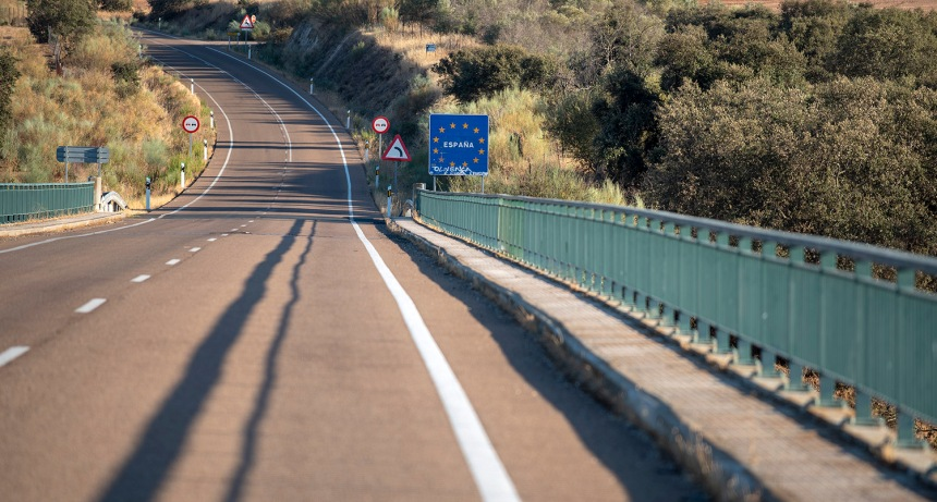 Acesso a Espanha por Olivença