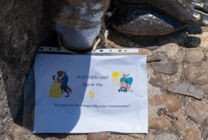 Em alguns locais há sinais de inciativas sobre Camões