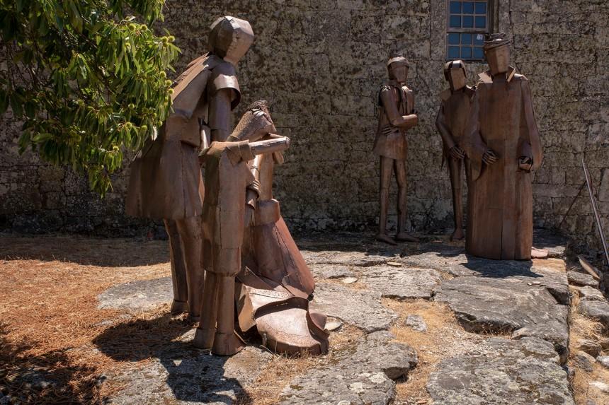 O drama de Inês de Castro nas estátuas em metal de Rui Miragaia