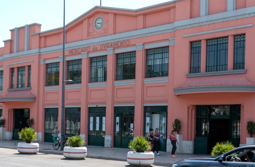 Exterior do Mercado do Livramento