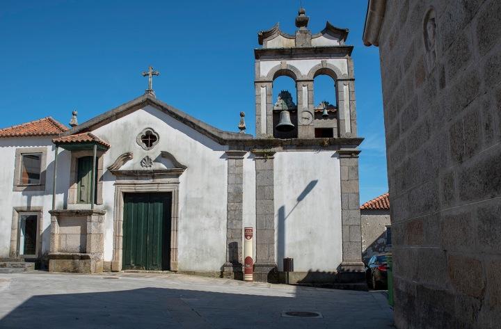 Exterior da igreja da Santa Casa da Misericórdia de Algodres