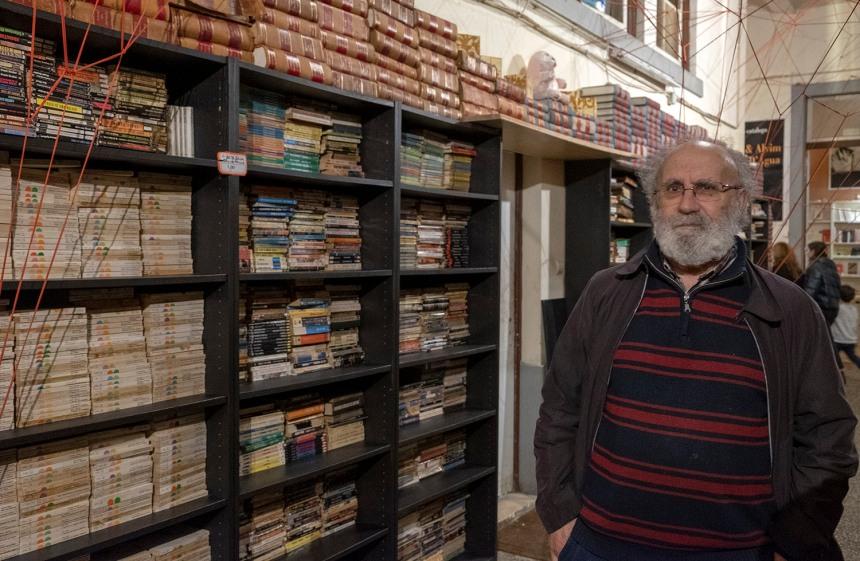 José Ribeiro na Fábrica Braço de Prata