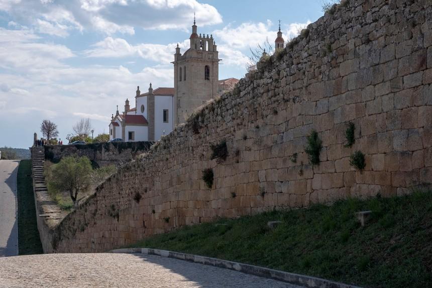 Concatedral e a muralha