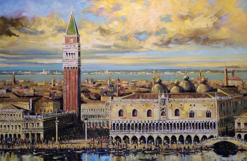 Pintura e João Mário de Veneza