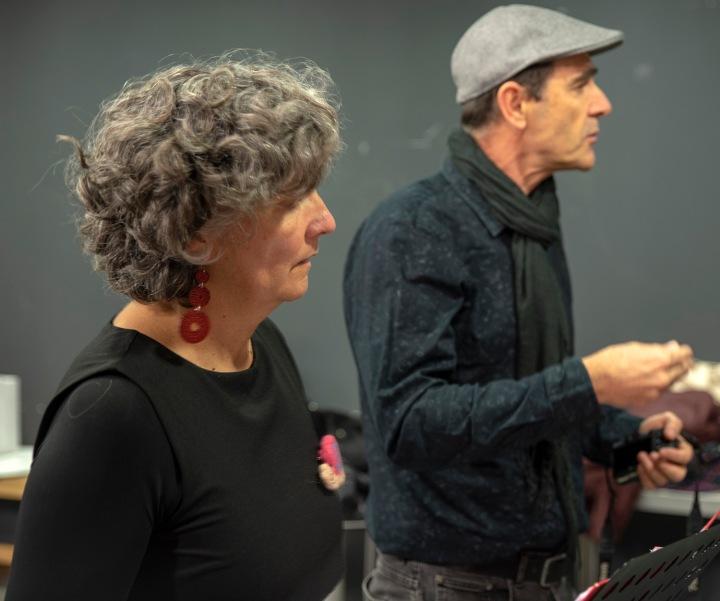 Cristina Paiva e Fernando Ladeira