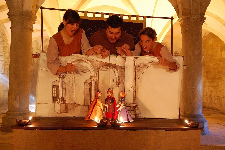Os S.A.Marionetas: Natacha Pereira, José Gil e Sofia Vinagre ©SAMarionetas