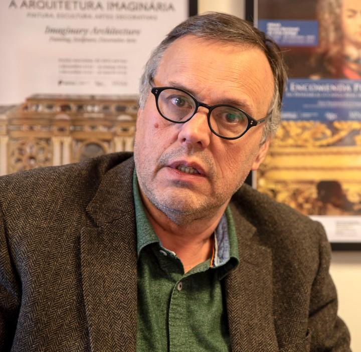 Joaquim Oliveira Caetano, diretor do MNAA