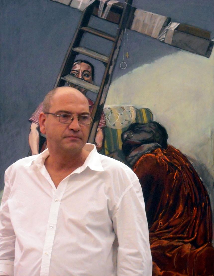 Miguel Horta na  Casa das Histórias Paula Rego ©Sara Barriga