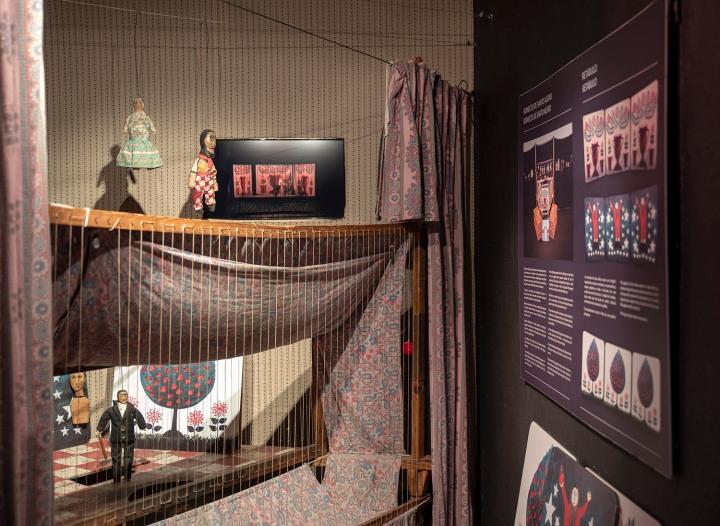 Os Bonecos de Santo Aleixo no Museu da Marioneta em Lisboa