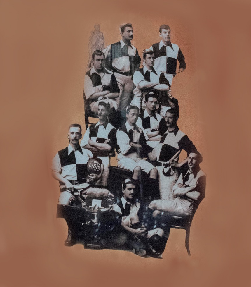 Equipa do Libonense que jogou a 2 de Março no Porto