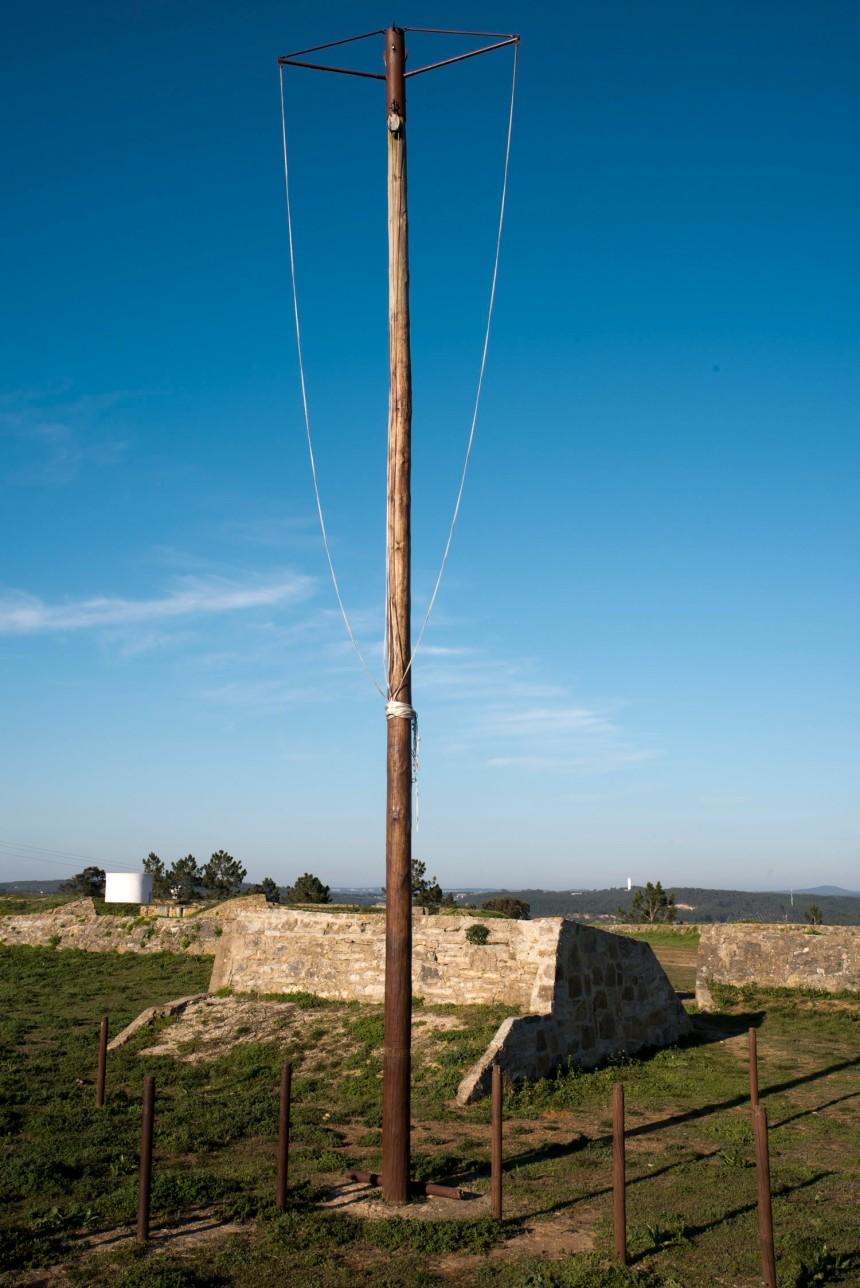 Sistema de comunicação por telégrafo visual. Forte de S. Vicente