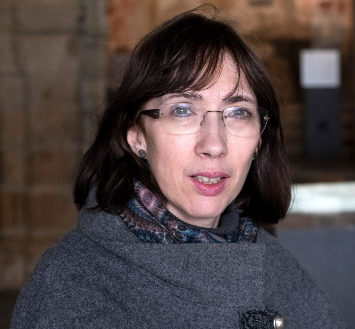 Manuela Silva guia no monumento