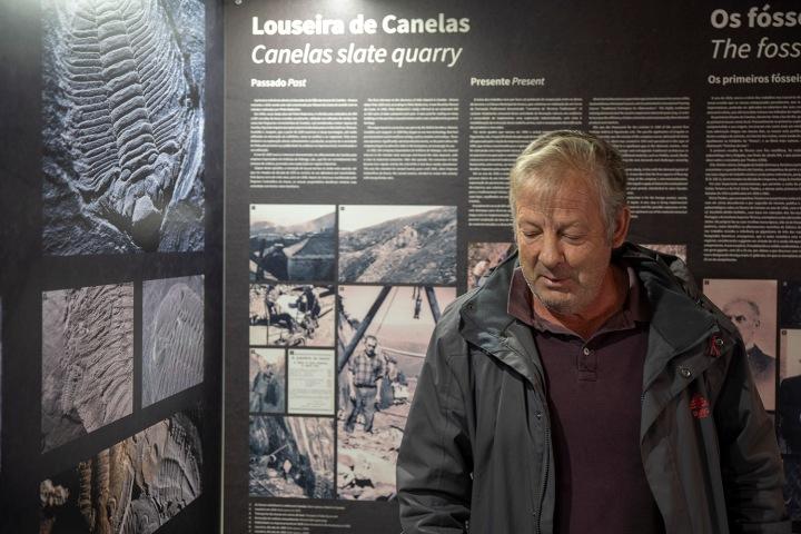 Manuel Valério, proprietário do Museu das Trilobites